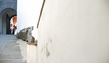 Aufgang zum Arkadenhof © Nafez Rerhuf
