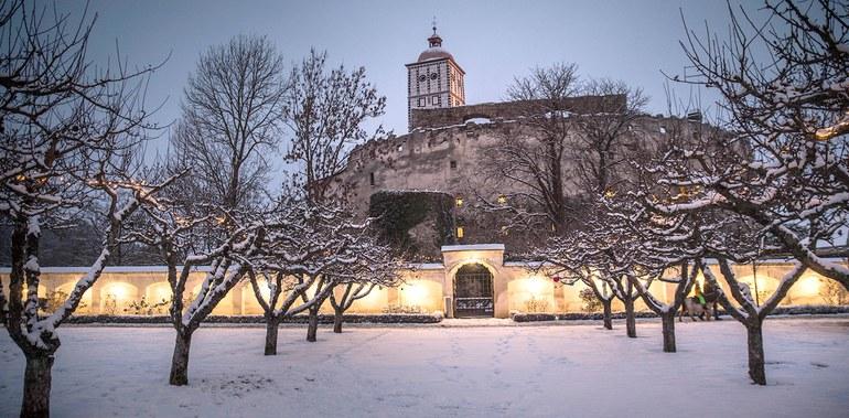 Schlossgarten im Winter © Daniela Matejschek © Daniela Matejschek